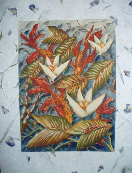 Златни рибки (снимка)